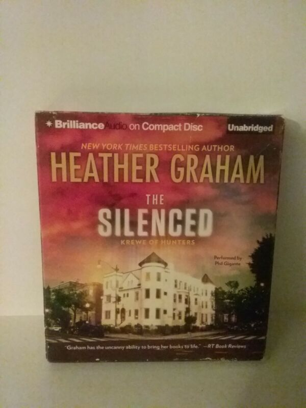 The Silenced by Heather Graham - 8 CD UNABRIDGED AUDIOBOOK - Brilliance Audio