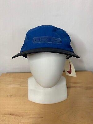 c952ba7c32545 90s VTG nwt NIKE ACG 5 Panel Camp STRAPBACK Hat Clima Fit Agassi OG Tennis