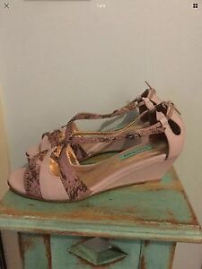 Size 7 purple wedges Bowen Mountain Hawkesbury Area Preview