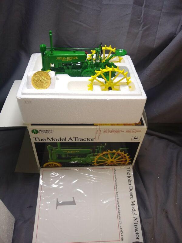 NEW ERTL 1/16 John Deere The Model A Tractor Precision Classics
