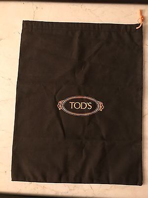 "Tod's Shoe Dust Bag Brown 11.5"" x  14"""