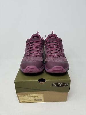 KEEN Women's Terradora Waterproof Hiking Shoe, Winetasting/Tulipwood, 5 M US