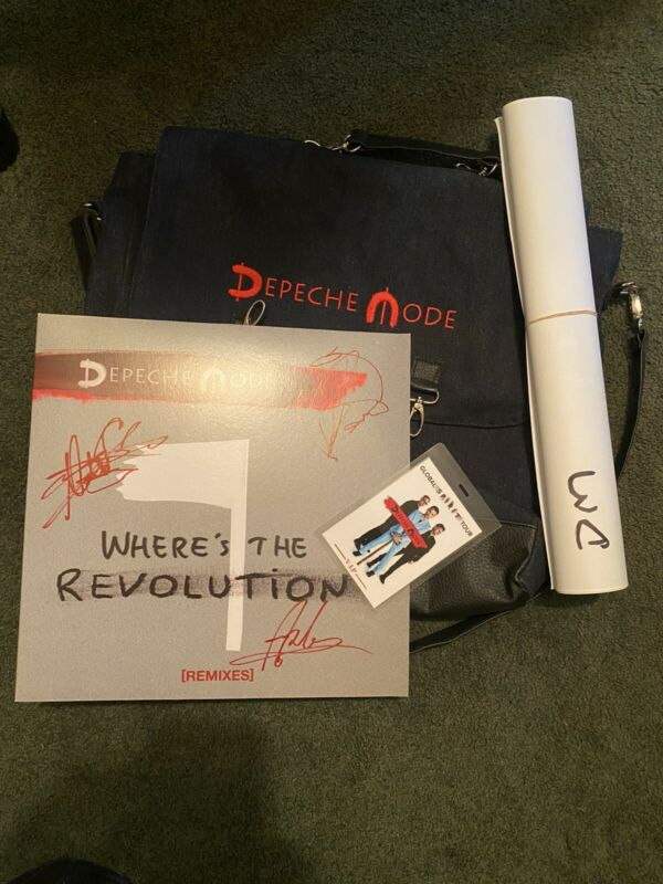Depeche Mode Signed VIP Pack