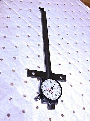 Starrett Ss Dial Depth Gage 0-6 Range 0.001 Graduation 2-34 Base Length 56766