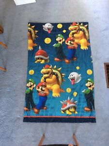 Super Mario Curtain Panel
