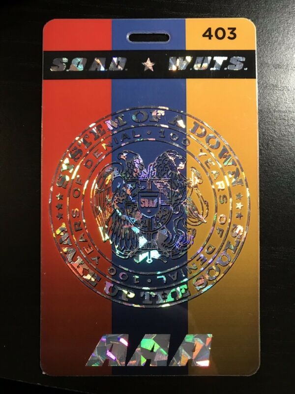 System Of A Down All Accses Laminate