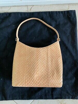 Authentic Vintage GIANNA VERSACE Small Fish-Scale Bag (RARE, Good (Versace Small Bag)