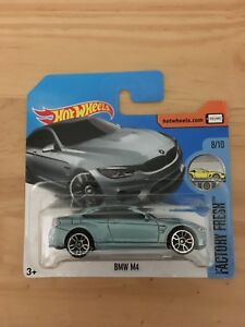 Hot Wheels BMW M4 Short Card