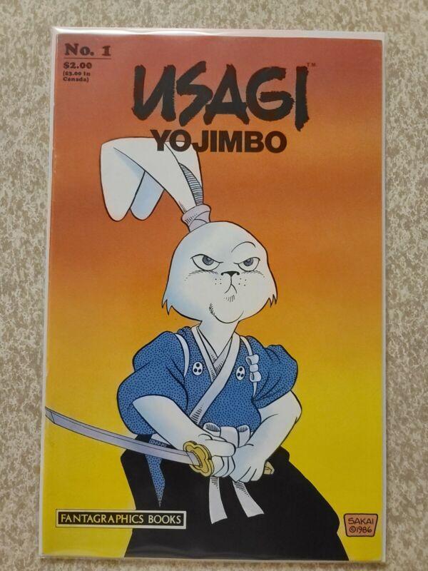 Usagi Yojimbo #1 - 1987 1st Print