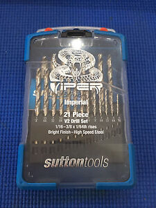 Sutton Tools Viper IMPERIAL 21 Pc V2 Drill Set Brunswick East Moreland Area Preview