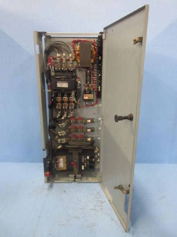 "General Electric GE 8000 Size 4 Starter 175 Amp Breaker Type 36"" MCC Bucket 175A"