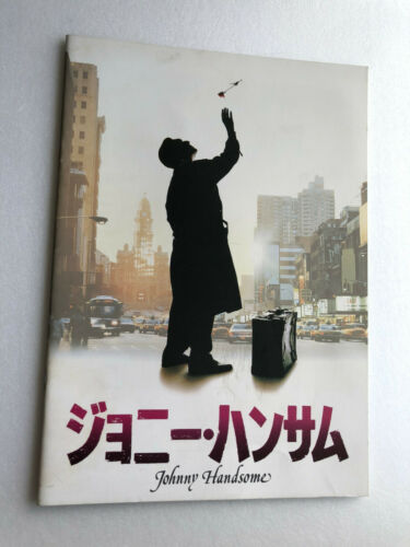 "Mickey Rourke, Elizabeth McGovern ""Johnny Handsome"" Japan movie souvenir program"