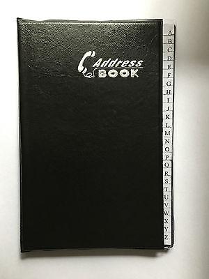 Adressbuch Geburtstage Telefonregister Telefonbuch Senioren Telefon Buch schwarz