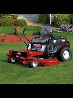 Grass cutting and yard clean up services