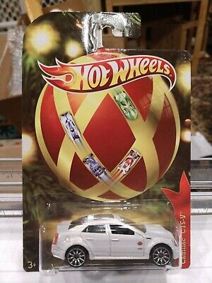 HOT WHEELS HOLIDAY RODS CADILLAC CTS-V VERY NICE NEW ON CARD IN PROTECTO