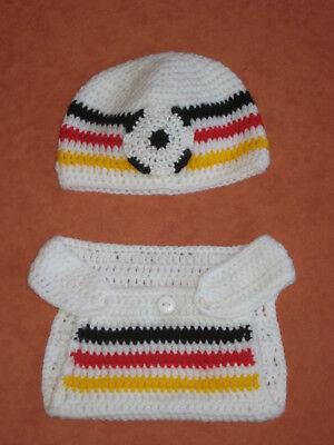 NEU  Foto-Shooting Outfit   Kostüm  Deutschland Fußball  Geschenk  (Fußball Baby Kostüme)