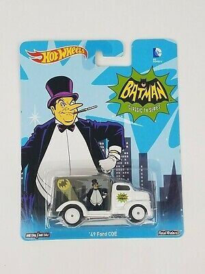 Hot Wheels Pop Culture DC Comics Batman Classic TV Series Penguin 49 Ford COE
