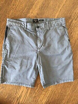 Quiksilver Shorts Grey - 33 - Walkshorts - Chinos - - Quiksilver Walkshorts