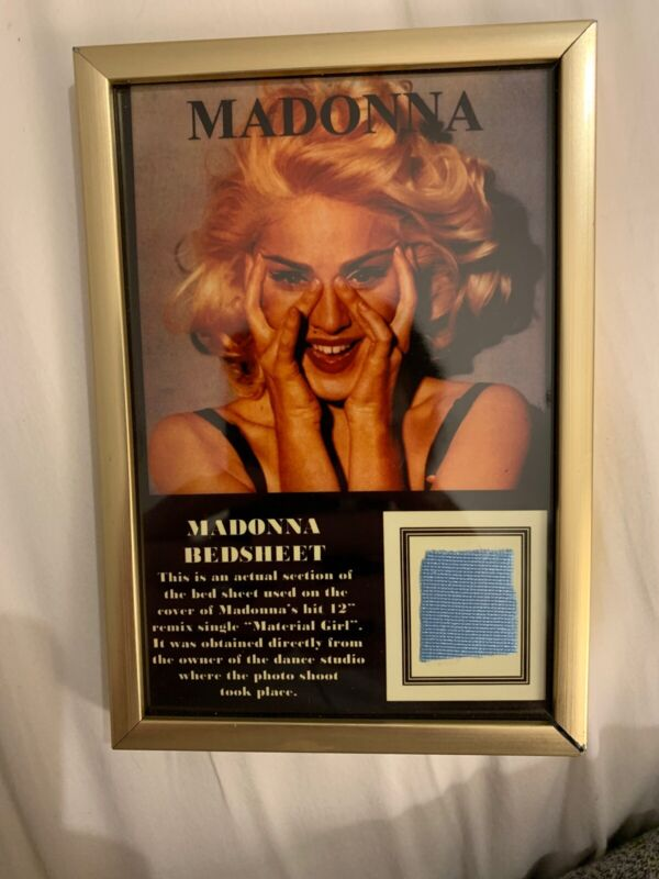 Madonna Bedsheet Section from Material Girl