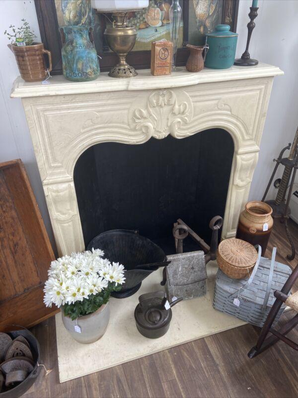 Beautiful French Style Marble ? Stone Fireplace Mantel Surround 46x42x10