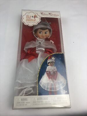 RARE~The Elf on the Shelf Claus Couture Collection Peppermint Princess Gown New