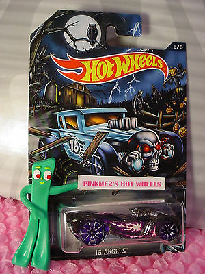 #6 16 ANGELS∞Trans Gray; TRAP5 purple☠Kmart Hot Wheels Excl (Halloween Kmart)