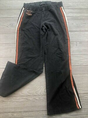 *Harley Davidson Sweatpants Womens Size XL Black Pants
