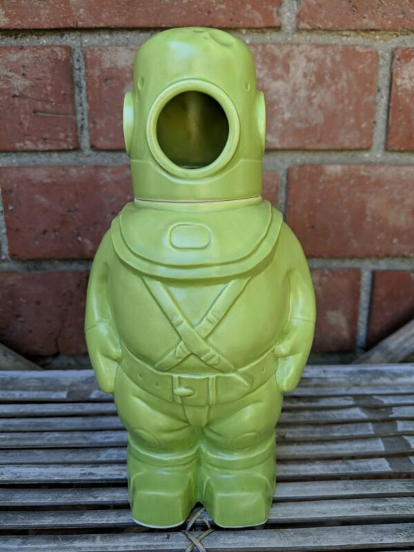 VanTiki Ghost Diver Tiki Mug Sold Out Green Limited Edition