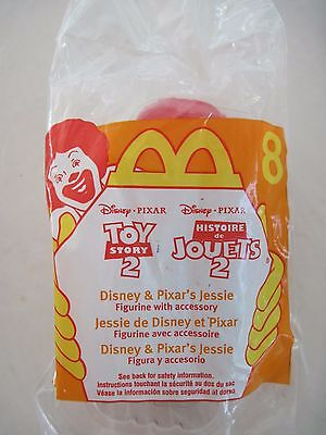 McDonald's Happy Meal Toy - Toy Story 2 - Jessie #8 - 1999 - SEALED