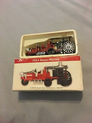 Collectable 1914 Knox-Martin Fire Engine Diecast Toy Car - Fire Engine Diecast Car