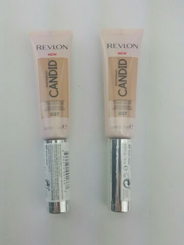 (Lot of 2) Revlon Photoready Candid Antioxidant Concealer 027 Biscuit D3