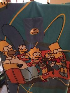 Couverture Simpsons Snuggle Blanket Nuclear Family