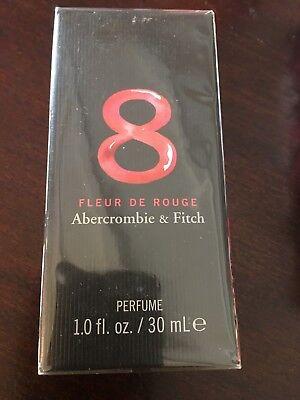 new Abercrombie & Fitch 8 Fleur De Rouge Perfume 1.0 oz Fragance Parfum Women for sale  USA