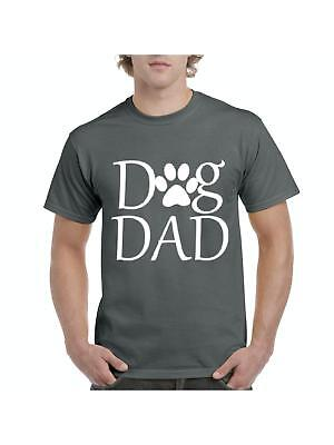 Dog Dad - Paw Love Pets Dogs Cats Dog Lovers Birthday Fathers Day Gift T-Shirt