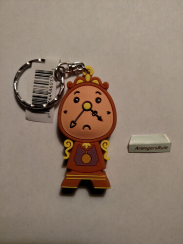 Disney Princess Beauty and the Beast Figural Keyring Series Cogsworth