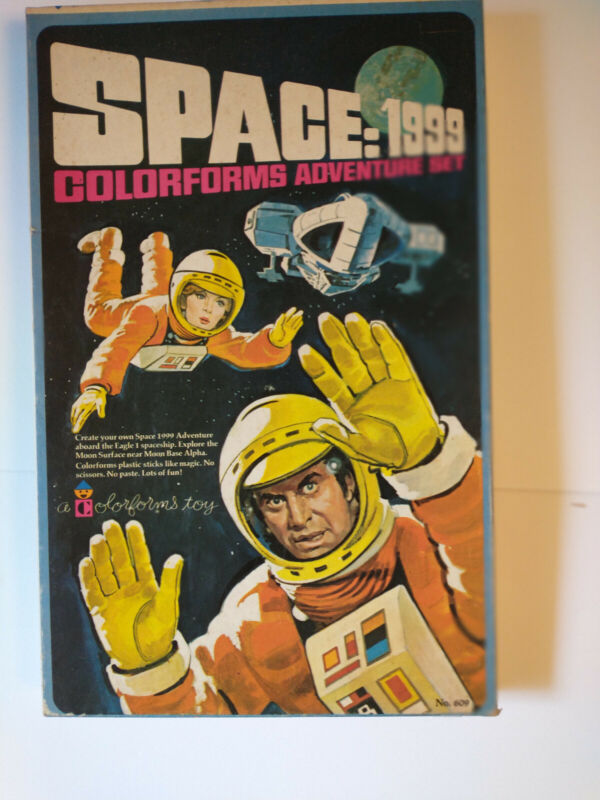 Space 1999 Colorforms Adventure Set #609 Unused and Complete