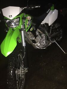 2018 klx 250 street and trail