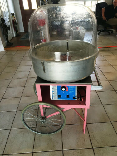 Cotton Candy Machine Gold Metal 3030 The Breeze Excellent condition