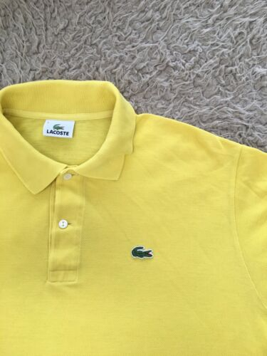 Polo lacoste homme taille l vintage 90 s