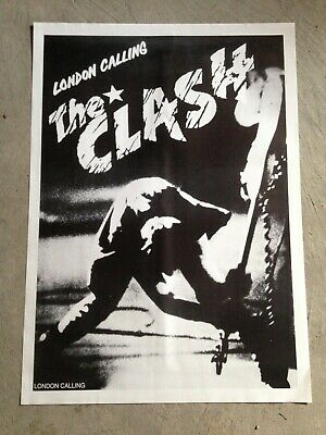 The Clash -London Calling Album poster 24