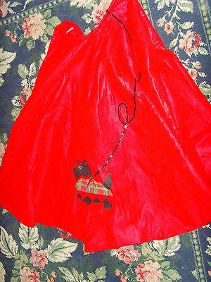 Handmade Halloween Costume (Halloween sock hop handmade felt skirt costume womens size M L XL scotty)