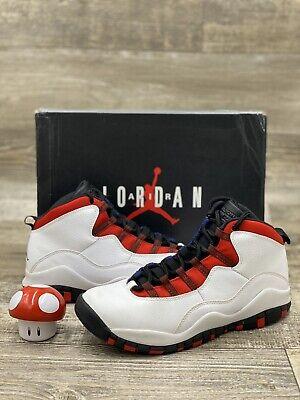 Nike Air Jordan Retro X 10 Olympians GS White Red Blue Black Sz 7Y 310806-160