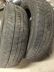 Two 175/65/15 Dunlop SP31 All Season Tires