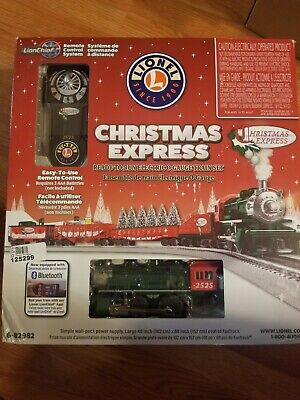 Lionel Christmas Express O Gauge Electric Train Set Bluetooth 6-82982 *no tracks