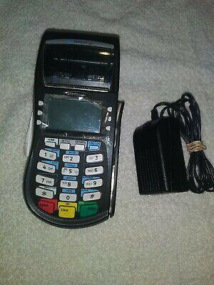 Hypercom Optimum T4220 Pn 010332-312 Credit Card Pos Terminal Chip Reader