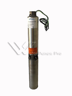25gs15422c Goulds 25gpm 1.5hp 4 Submersible Water Well Pump Motor 230v 2wire