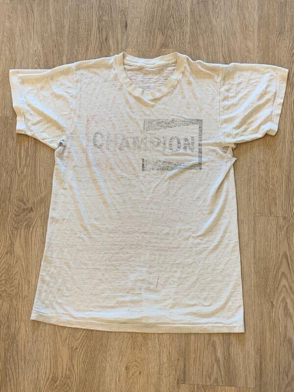 vintage champion spark plug shirt