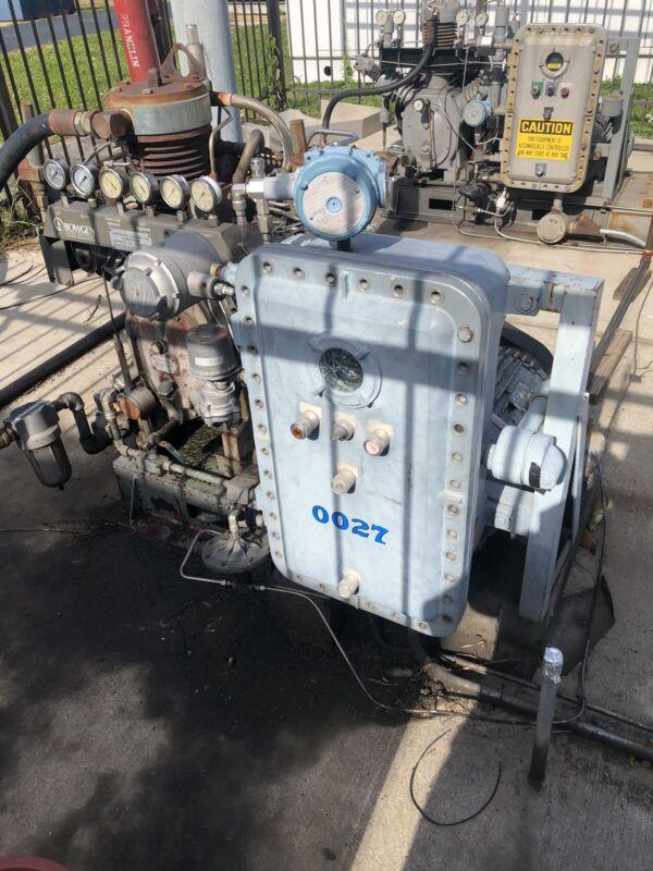 CNG Station Tulsa Dispenser, 2 Ingersol Compressors, 312 GGE storage card reader