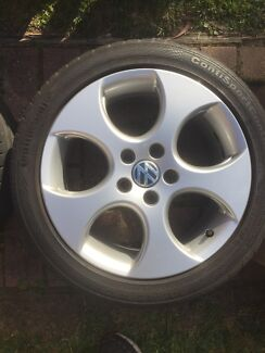 """17"""" VW MK5 GTI Denver wheels and tyres x5 BBS Greensborough Banyule Area Preview"""