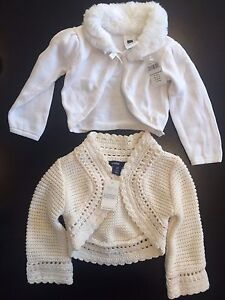 2 BRAND NEW with tags baby GAP girl sweaters 6-12m